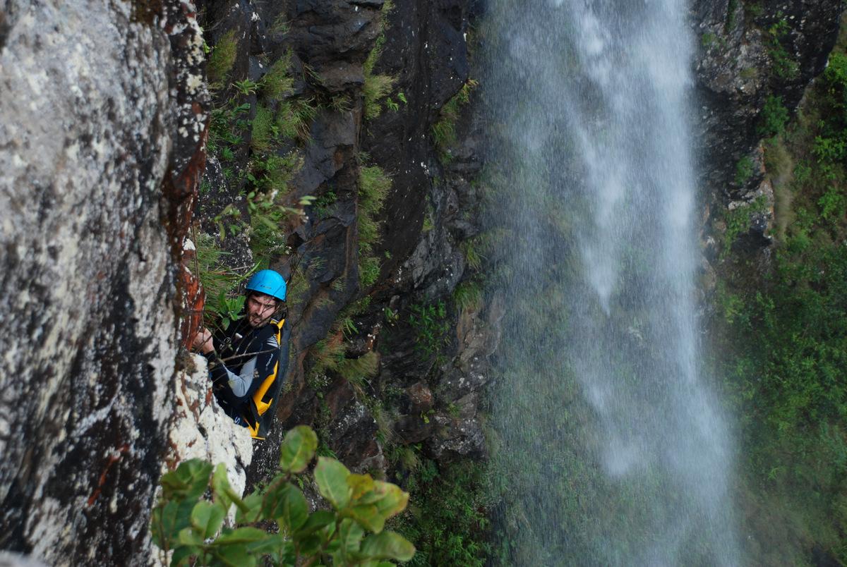 île maurice, cascade des 500 pieds