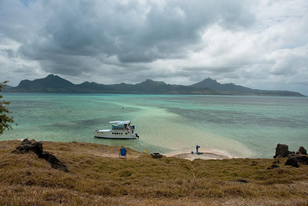 île maurice, île aux fouquets