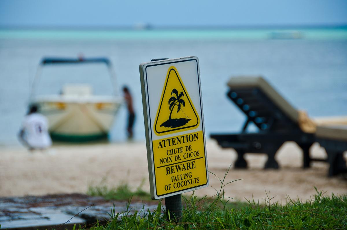 île maurice, pointe aux canonniers