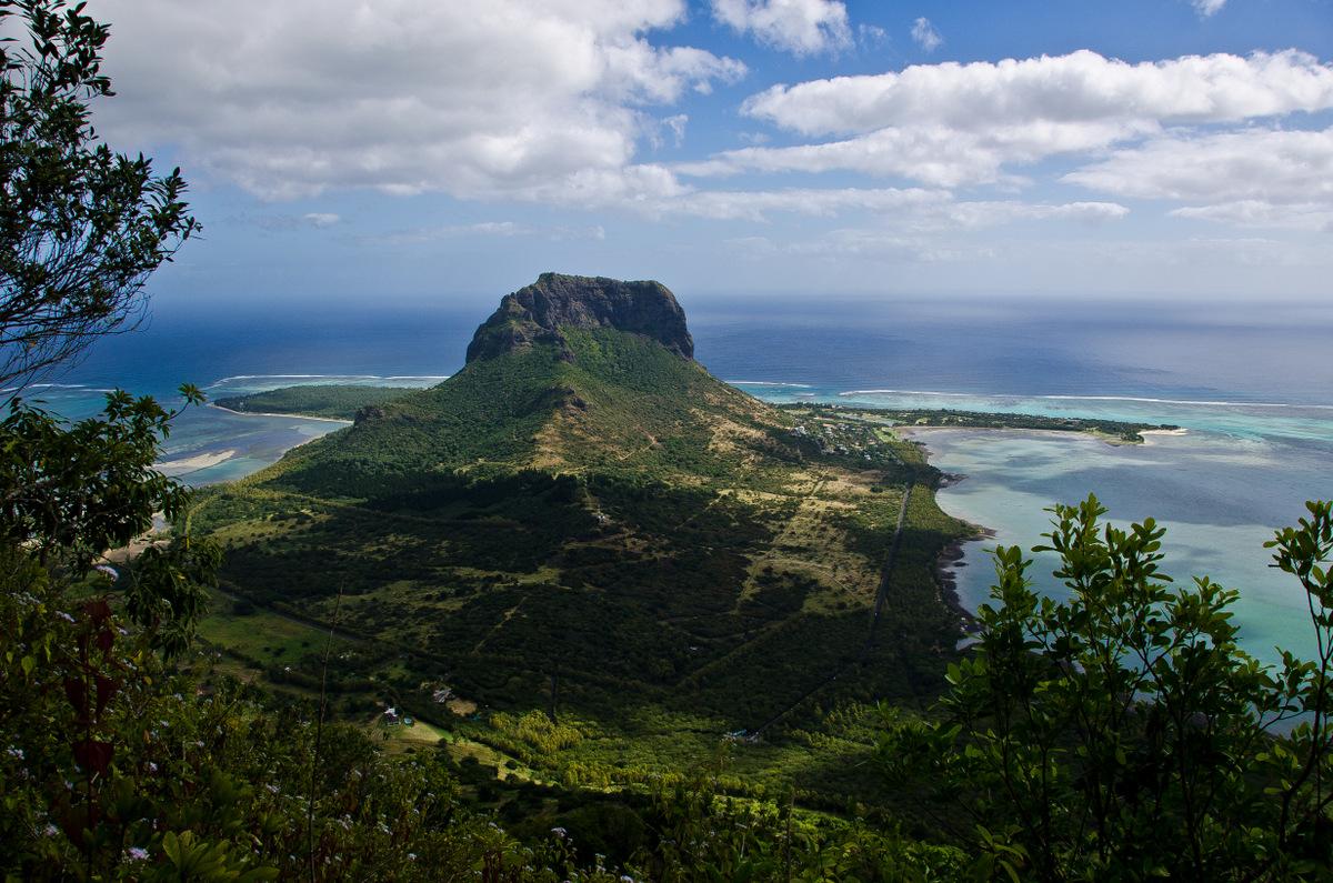 île maurice, piton du fouge